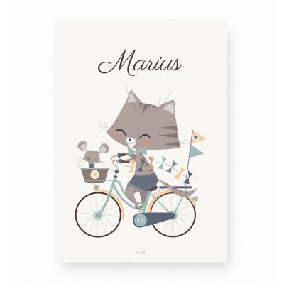 Marius et Souriceau - Personnalisable