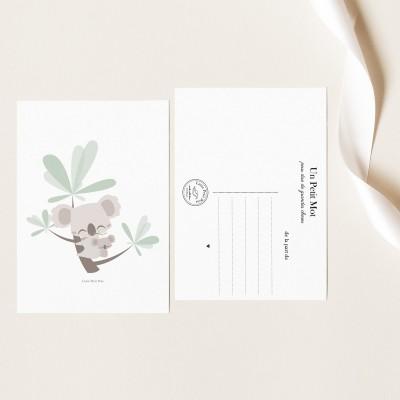 Carte Papier Texturé - Petit Koala
