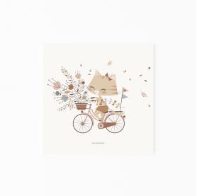 affiche enfant célestine, affiche bébé lutin petit pois, affiche bébé florale, affiche enfant fleurs