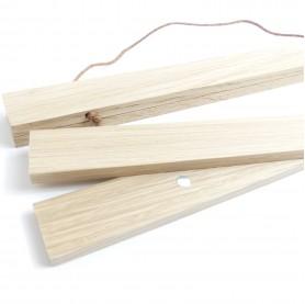 suspension magnétique en bois