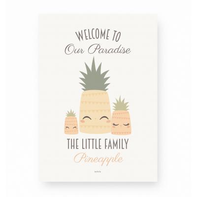 affiche enfant ananas